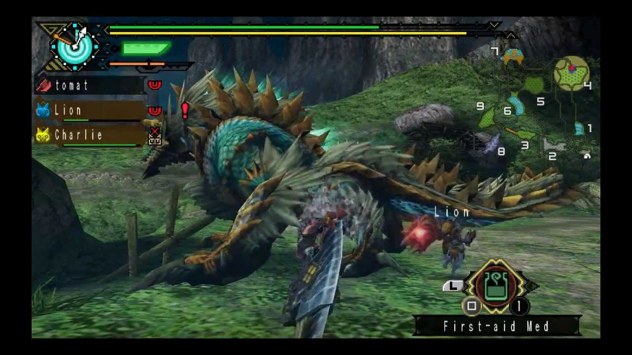monster hunter portable 3rd english patch psp