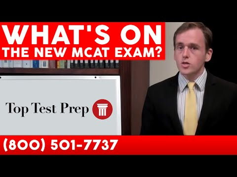 What's on the new MCAT exam? | TopTestPrep.com