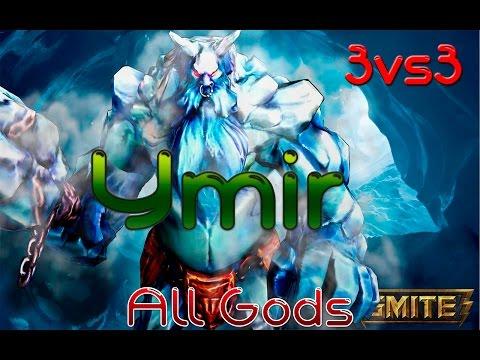 3vs3 All Gods | Ymir | Frozen!! con Narko9r
