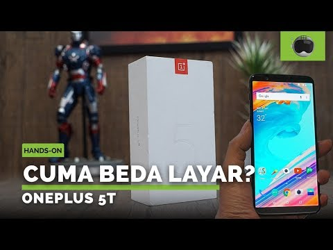 Unboxing & Hands-on OnePlus 5T Indonesia