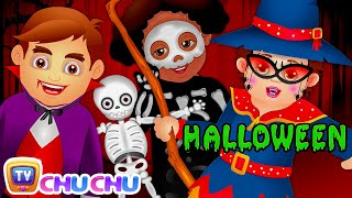 Halloween is Here | SCARY & SPOOKY Halloween Songs for Children | ChuChu TV Nursery Rhymes for Kids