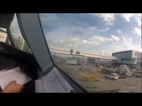 London Heathrow A319 Cockpit Takeoff