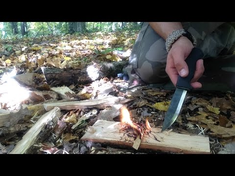 Mora Bushcraft Black - Test And Review