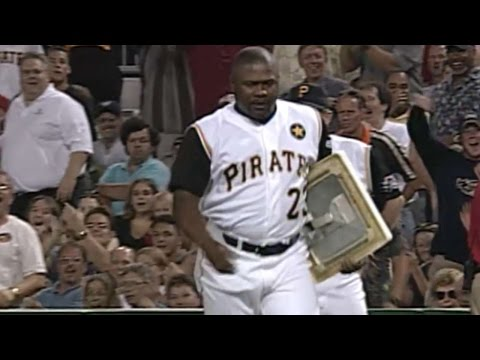 6/26/01: Pirates manager Lloyd McClendon is ejected after a close call and walks off the field with first base Check out http://m.mlb.com/video for our full archive of videos, and subscribe...