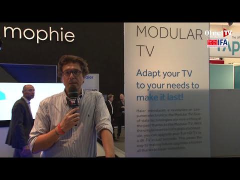 IFA 2014 : Haier propose une TV modulaire