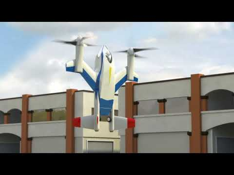 NASA Puffin Low Noise, Electric VTOL Personal Air Vehicle