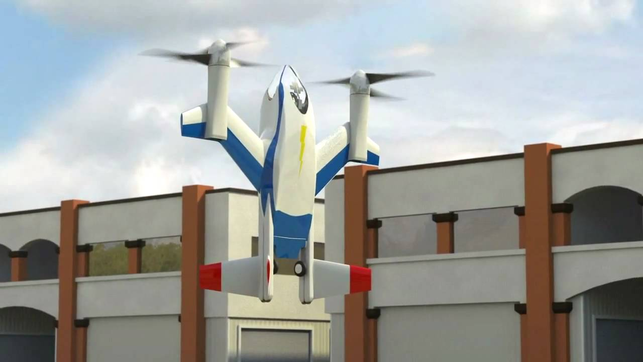 Nasa Puffin Low Noise Electric Vtol Personal Air Vehicle