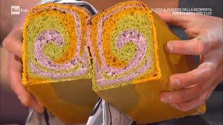 Spirale di pane ai tre colori - E' sempre Mezzogiorno 28/04/2021