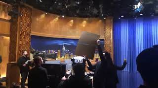 Jimmy Fallon  YouTube live to see if he hits 20k million subscribers 2/20/19