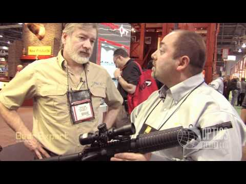New Nikon Rifle Scopes at SHOT Show 2012 - M-308. P-22 Rimfire Scope. P-223 & more!