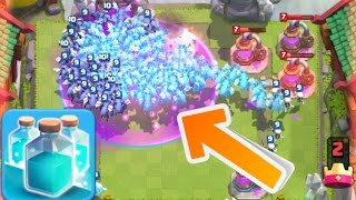 Clash Royale - X100 CLONED MINIONS WORLD RECORD GAMEPLAY!