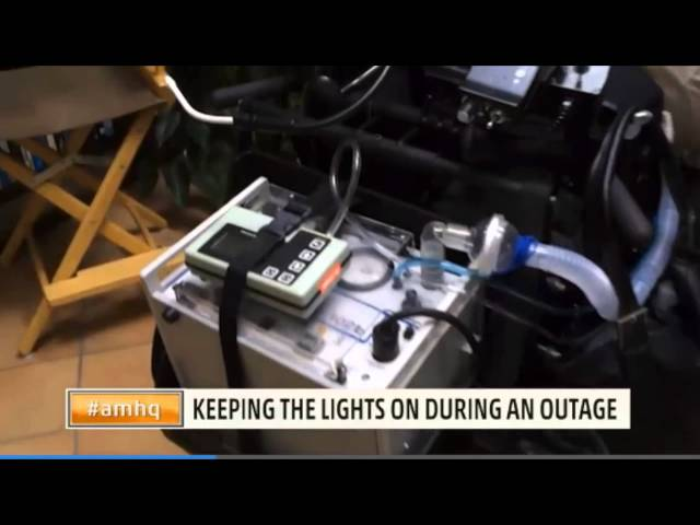 The Weather Channel: When Losing Power Means Life or Death