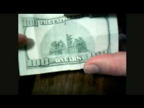 Hidden Message in Dollar Bill