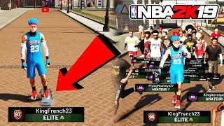 BEST PURE SHARP 97 OVERALL REACTION + RONNIE2K VERIFIED ME ON NBA 2K19