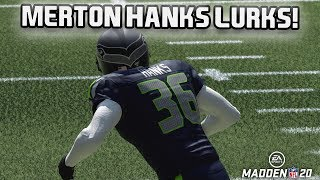 Legend Merton Hanks Makes a Statement - Madden 20 MUT Squads