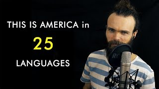 "How to say ""THIS IS AMERICA"" in 25 Different Languages (ASMR Whispers+soft spoken)"