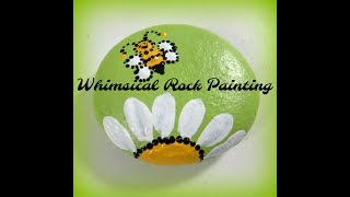 Whimsical Rock Painting | Inspirational Rocks Tutorial | Aressa | 2019