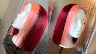 VALENTINES DAY HAIR COLOR/ Arrogant Tae inspired ft. Eayon Wigs