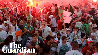 Algeria fans around the world celebrate Africa Cup of Nations win
