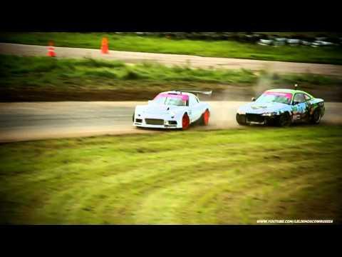 Степанян-Куренбин \ TOP16 \ 4stage \ Moscow \ Russian Drift Series RDS 2012