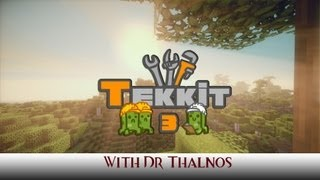 Tekkit Cow Farm and Minecart display