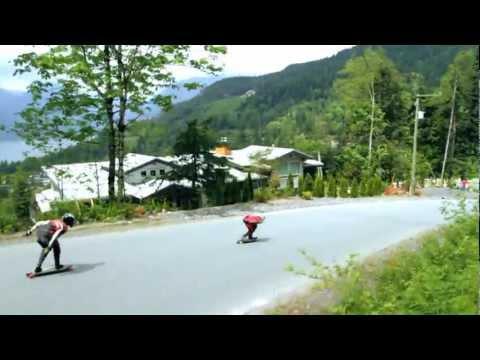 World Class Downhill Skateboard Racing - Landyachtz