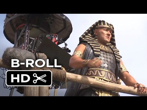 Exodus: Gods and Kings B-ROLL 2 - Joel Edgerton, Christian Bale Movie HD