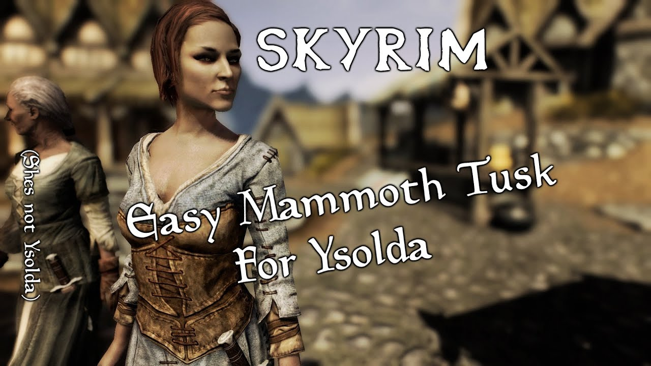 Skyrim Mammoth Armor Skyrim Where to Find a Mammoth