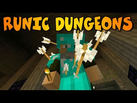DUNGEONS INFINITAS   RUNIC DUNGEONS MOD  Minecraft Mod Review