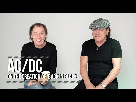 AC/DC on the Creation of 'Back in Black'