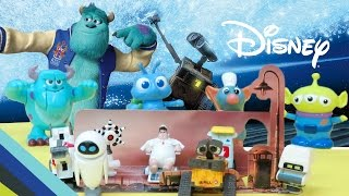 Disney Wall-E Mini Figures And Disney Pixar Wind-Up Toy Review