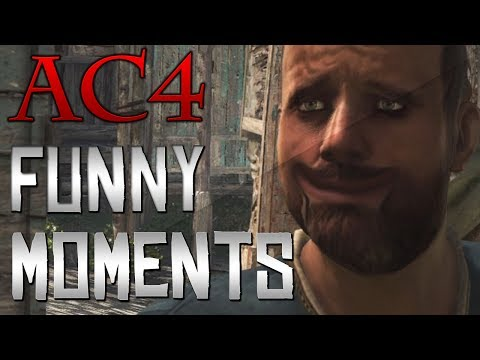Assassin's Creed 4 - Funny Moments (AC4 Black Flag)