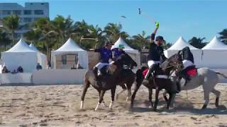 2018 Beach Polo World Cup  Miami Beach, USA !