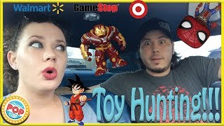 FUNKO POP! TOY HUNTING | Walmart, GameStop, Target, & Walgreens | DBZ, Infinity War, & MORE!