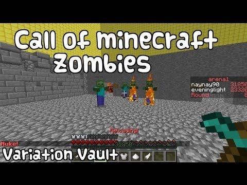 Minecraft Bukkit Plugin - Call Of Minecraft Zombies - Cod minigames zombies!