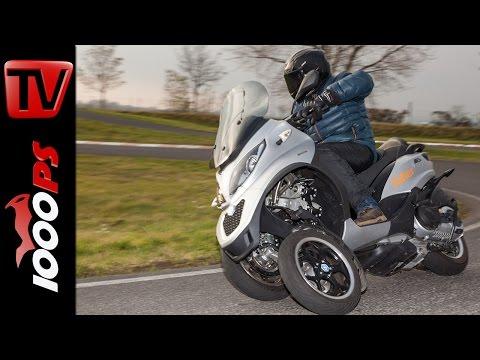 Piaggio MP3 500ie LT Sport Test   Fahreigenschaften. Stauraum. Fazit
