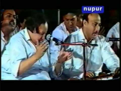Nusrat Fateh Ali Khan Sajna Tere Bina video