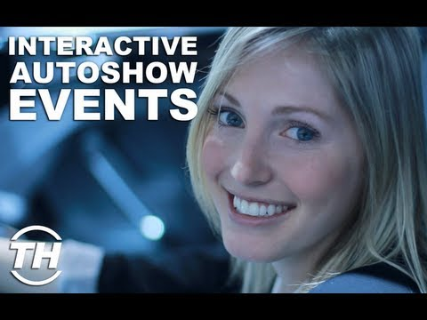 Interactive Autoshow Events - Jaime Neely Explores Volkswagen s Cross Coupe