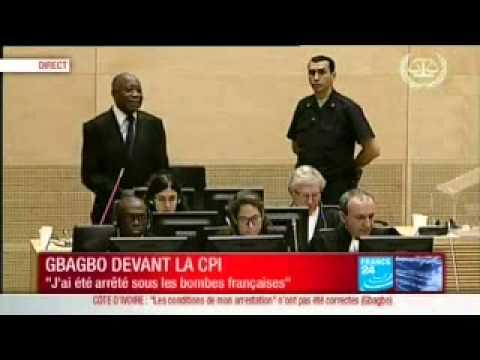 Première comparution du président Laurent Gbagbo à la Cour pénale internationale 1/2