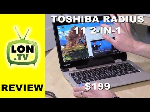 Toshiba Satellite Radius 11 2-in-1 Windows Laptop Review -  L10W-CBT2N01
