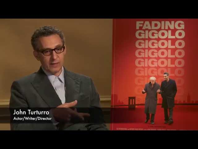 John Turturro on Fading Gigolo