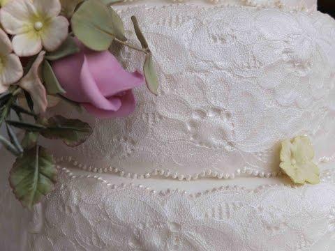 Cake Lace Tutorial