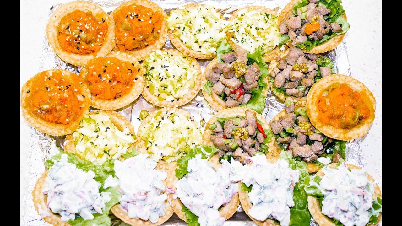 Пошаговые праздничные салаты и закуски