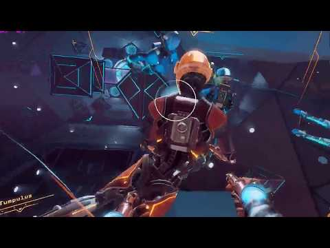 Echo Arena VR  Gameplay (No commentary, Oculus Rift Cv1 + Oculus Touch)