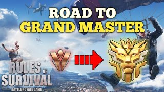 ROAD TO GRAND MASTER   Rules of Survival