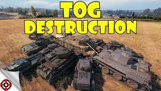 World of Tanks - Funny Moments | TOG DESTRUCTION! (Ramming Speed, WoT)