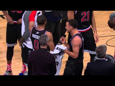 All-Star All-Access: Curry, Wall, Anthony, and Kerr Enjoy the Moment