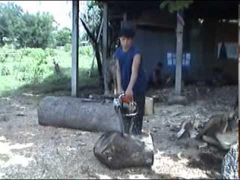 แกะสลักไม้ บ้านหลุกใต้ ลำปาง