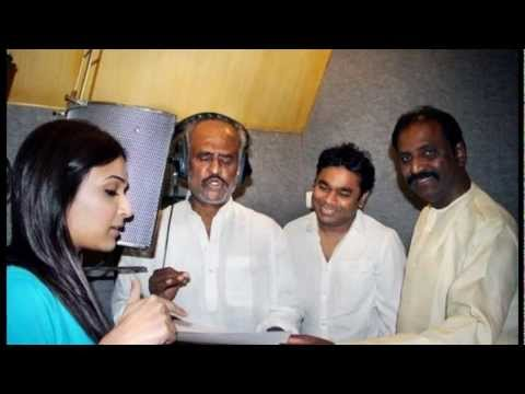 Rajinikanth records a song for Kochadaiyaan