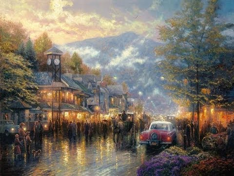 Mountain Memories by Thomas Kinkade